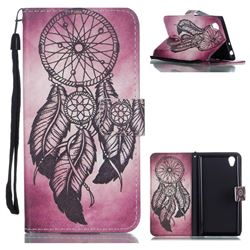 Wind Chimes Leather Wallet Phone Case for Sony Xperia L1 / Sony E6