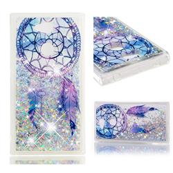 Fantasy Wind Chimes Dynamic Liquid Glitter Quicksand Soft TPU Case for Sony Xperia L2