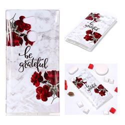 Rose Soft TPU Marble Pattern Phone Case for Sony Xperia L2