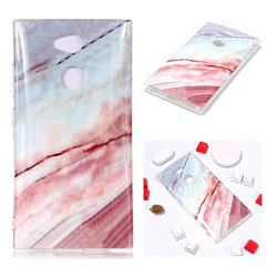Elegant Soft TPU Marble Pattern Phone Case for Sony Xperia L2