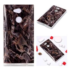 Brown Soft TPU Marble Pattern Phone Case for Sony Xperia L2