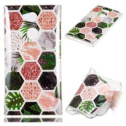Rainforest Soft TPU Marble Pattern Phone Case for Sony Xperia L2