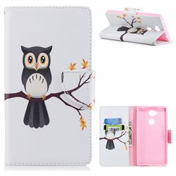 Owl on Tree Leather Wallet Case for Sony Xperia L2