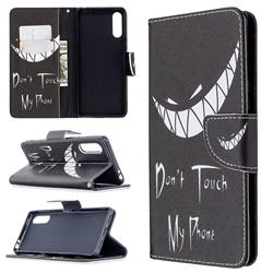 Crooked Grin Leather Wallet Case for Sony Xperia L4