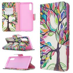 The Tree of Life Leather Wallet Case for Sony Xperia L4