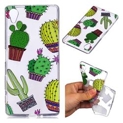 Cactus Ball Super Clear Soft TPU Back Cover for Sony Xperia XA1