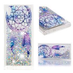 Fantasy Wind Chimes Dynamic Liquid Glitter Quicksand Soft TPU Case for Sony Xperia XA1
