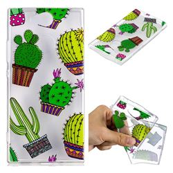 Cactus Ball Super Clear Soft TPU Back Cover for Sony Xperia XA2