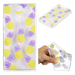 Carton Pineapple Super Clear Soft TPU Back Cover for Sony Xperia XA2