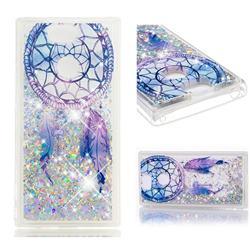 Fantasy Wind Chimes Dynamic Liquid Glitter Quicksand Soft TPU Case for Sony Xperia XA2