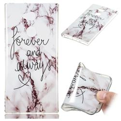 Forever Soft TPU Marble Pattern Phone Case for Sony Xperia XA2