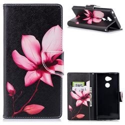 Lotus Flower Leather Wallet Case for Sony Xperia XA2 Ultra(6.0 inch)