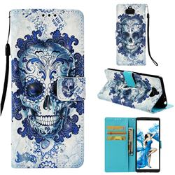 Cloud Kito 3D Painted Leather Wallet Case for Sony Xperia 10 / Xperia XA3