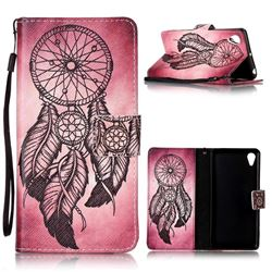 Wind Chimes Leather Wallet Phone Case for Sony Xperia X Performance