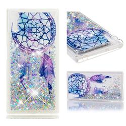 Fantasy Wind Chimes Dynamic Liquid Glitter Quicksand Soft TPU Case for Sony Xperia XZ XZs