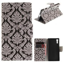 Totem Flowers PU Leather Wallet Case for Sony Xperia XZ