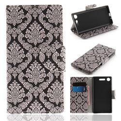 Totem Flowers PU Leather Wallet Case for Sony Xperia XZ1