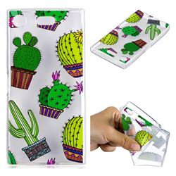 Cactus Ball Super Clear Soft TPU Back Cover for Sony Xperia XZ1 Compact