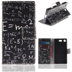 Formula PU Leather Wallet Case for Sony Xperia XZ1 Compact