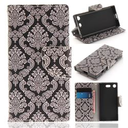 Totem Flowers PU Leather Wallet Case for Sony Xperia XZ1 Compact
