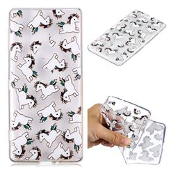 Pony Unicorn Super Clear Soft TPU Back Cover for Sony Xperia XZ2