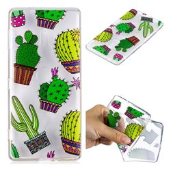 Cactus Ball Super Clear Soft TPU Back Cover for Sony Xperia XZ2