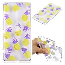 Carton Pineapple Super Clear Soft TPU Back Cover for Sony Xperia XZ2