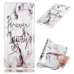 Forever Soft TPU Marble Pattern Phone Case for Sony Xperia XZ2