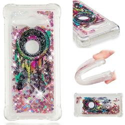Seal Wind Chimes Dynamic Liquid Glitter Sand Quicksand Star TPU Case for Sony Xperia XZ2 Compact