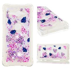 Diamond Dynamic Liquid Glitter Sand Quicksand Star TPU Case for Sony Xperia XZ2 Compact