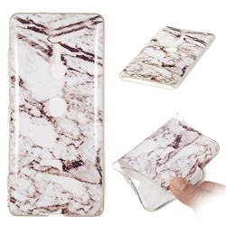 White Soft TPU Marble Pattern Case for Sony Xperia XZ3