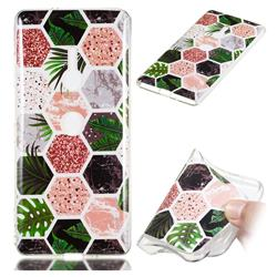 Rainforest Soft TPU Marble Pattern Phone Case for Sony Xperia XZ3