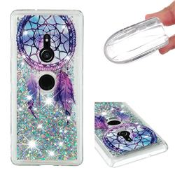Fantasy Wind Chimes Dynamic Liquid Glitter Quicksand Soft TPU Case for Sony Xperia XZ3