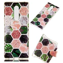 Rainforest Soft TPU Marble Pattern Phone Case for Sony Xperia XZ4