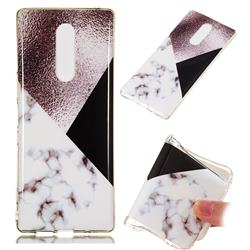 Black white Grey Soft TPU Marble Pattern Phone Case for Sony Xperia XZ4