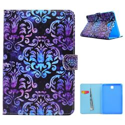 Royal Mandala Flower Folio Flip Stand Leather Wallet Case for Samsung Galaxy Tab A 8.0 T350 T355