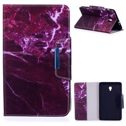 Red Marble Folio Flip Stand Leather Wallet Case for Samsung Galaxy Tab A 8.0 (2017) T380 T385 A2 S