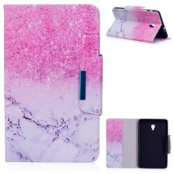 Sand Marble Folio Flip Stand Leather Wallet Case for Samsung Galaxy Tab A 8.0 (2017) T380 T385 A2 S