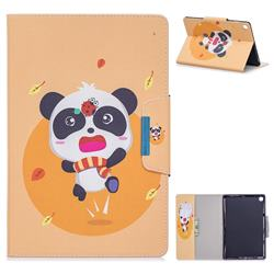 Ladybug Panda Folio Flip Stand Leather Wallet Case for Samsung Galaxy Tab A 10.1 (2019) T510 T515