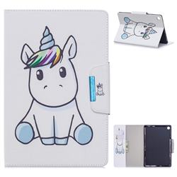 Blue Unicorn Folio Flip Stand Leather Wallet Case for Samsung Galaxy Tab A 10.1 (2019) T510 T515