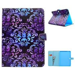 Royal Mandala Flower Folio Flip Stand Leather Wallet Case for Samsung Galaxy Tab 4 10.1 T530 T531 T533 T535