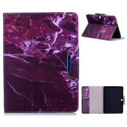 Red Marble Folio Flip Stand Leather Wallet Case for Samsung Galaxy Tab 4 10.1 T530 T531 T533 T535