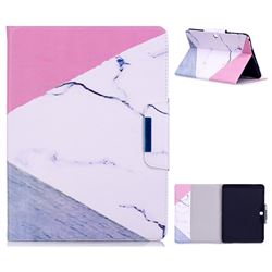Triangle Marble Folio Flip Stand Leather Wallet Case for Samsung Galaxy Tab 4 10.1 T530 T531 T533 T535