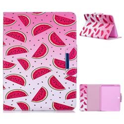Watermelon Folio Flip Stand Leather Wallet Case for Samsung Galaxy Tab 4 10.1 T530 T531 T533 T535