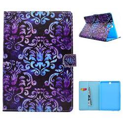 Royal Mandala Flower Folio Flip Stand Leather Wallet Case for Samsung Galaxy Tab A 9.7 T550 T555