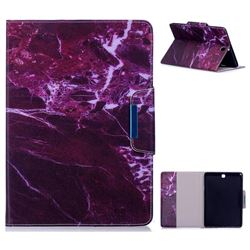 Red Marble Folio Flip Stand Leather Wallet Case for Samsung Galaxy Tab A 9.7 T550 T555