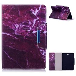 Red Marble Folio Flip Stand Leather Wallet Case for Samsung Galaxy Tab S2 8.0 T710 T715 T719