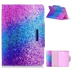 Rainbow Sand Folio Flip Stand Leather Wallet Case for Samsung Galaxy Tab S2 8.0 T710 T715 T719