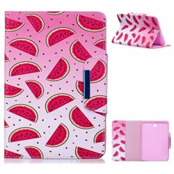 Watermelon Folio Flip Stand Leather Wallet Case for Samsung Galaxy Tab S2 8.0 T710 T715 T719