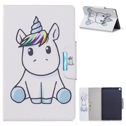 Blue Unicorn Folio Flip Stand Leather Wallet Case for Samsung Galaxy Tab S5e 10.5 T720 T725
